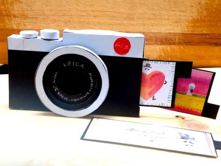圖片2:「玩藝玩」親子活動-咔嚓!爸爸的萊卡相機—充滿回憶的父親節卡片2
