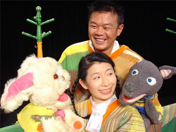 4/3免費兒童劇,快樂兒童節活動-【野狼兔子Amigo】
