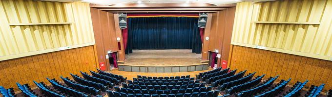 圖片:南海劇場暫停受理申請107年下半年至108年底場地檔期