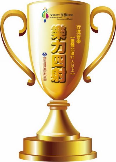 得獎名單公佈-107學年度全國學生音樂比賽行進管樂人氣票選活動