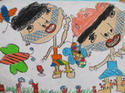 圖片:第五屆全國原住民兒童繪畫比賽優秀作品展