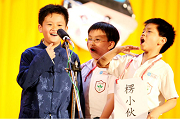 圖片:2012年國語實小說唱藝術社成果發表會