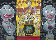 圖片:春遊童畫─第39屆世界兒童畫國內特優作品展