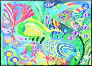 圖片:陽明海運第四屆國際青少年繪畫比賽優勝作品巡迴展