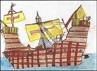 陽明海運第五屆國際青少年繪畫比賽優勝作品巡迴展