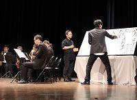 圖片:瘋狂音符與飛濺墨點之交融對語……南瘋vs海硯二部曲!