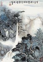 圖片:汲古出新-台灣水墨畫會105年會員聯展