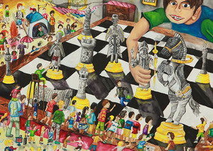 The 66th National Student Art Competition Picture