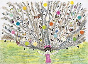 圖片:開啟美育的視窗—中華民國第48屆世界兒童畫展