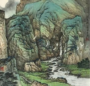 Stone Shih Landscape Individual Exhibition