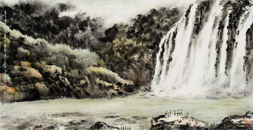 Flowing & Changes of Ink & Brushes– An Ink Painting Exhibition by Bai Zong-Ren