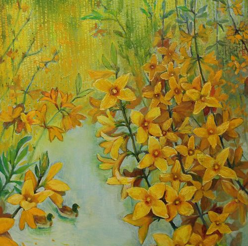 The Fragrance Space Resonate with Warm Memories – Painting' Exhibition by Chen Lishu 2019