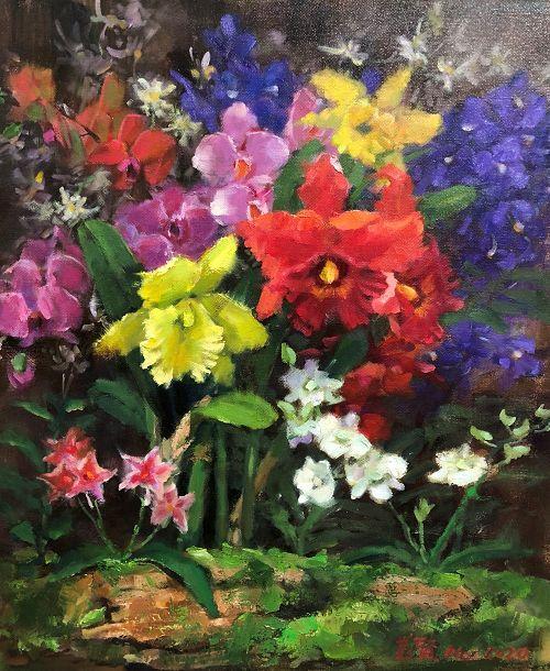 The Art of Taiwan Flowers and Fruits – The Duo Exhibition of Huang Mei-Xian and Zhang Bing-Huang