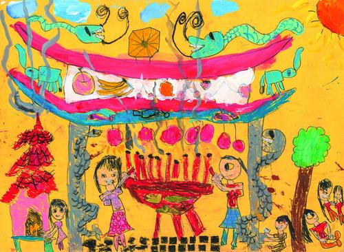 World Children's Art Exhibition — When We Art Together