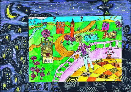 世界兒童畫第42-47屆拉脫維亞、立陶宛優秀作品展