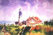 圖片:「采風之旅」林麗櫻水彩畫