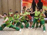 圖片:那騷動的獅頭民俗獅藝2007公演
