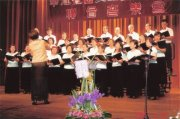 圖片:華江社區、天音合唱團聯合音樂會
