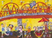 圖片:中華民國第三十九屆世界兒童畫精選作品展