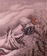 圖片:臺灣野鳥專輯水墨展