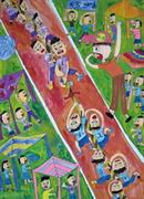 決定快樂.決定我們的未來 第19屆維他露兒童美術獎得獎作品展