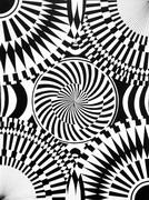 圖片:歐普藝術─點線面的構成