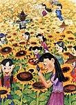 圖片:發現台灣農業之美.迎接WTO挑戰─彩繪家鄉花果田園徵畫精選展