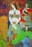 圖片:四川阿壩藏族版畫作品展