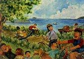 圖片:第十三屆維他露兒童美術獎「畫出大地的愛」得獎畫作巡迴展出