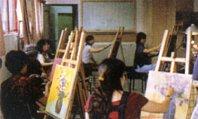 圖片:第五十一期藝教研習班西畫聯展
