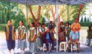 圖片:623次捐血人,巡守隊員,義警,義消畫家李松霖油畫個展